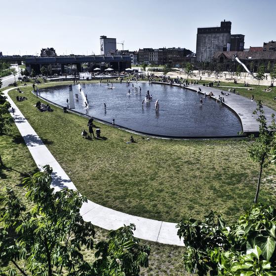 Park Spoor Noord - copyright Dave Van Laere