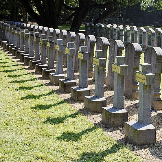 Le cimetière Schoonselhof - copyright Elisabeth Verwaest
