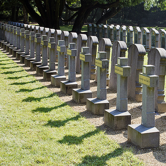 Friedhof Schoonselhof - copyright Elisabeth Verwaest