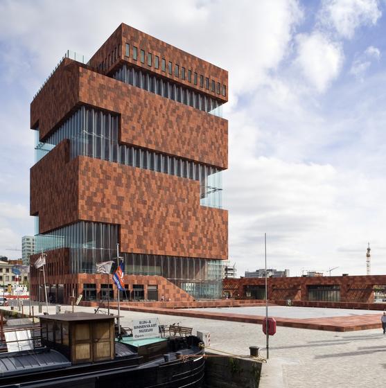 MAS | Museum aan de Stroom - copyright Foto Sarah Blee | Neutelings Riedijk Architecten