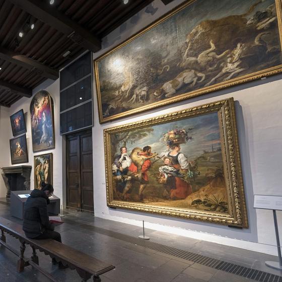 Six raisons de visiter la Maison Rubens - copyright Elvire Van Ooteghem