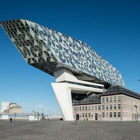 Inkijk in het Havenhuis - copyright Havenbedrijf Antwerpen - Peter Knoop