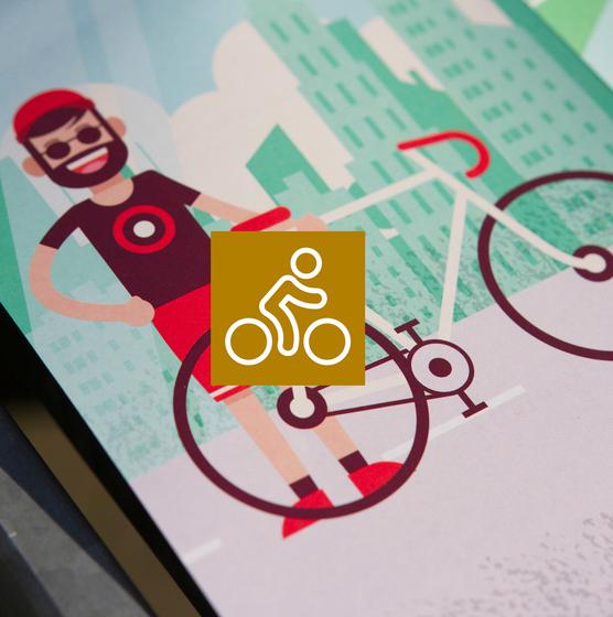 Urban Jungle Cycling Map - copyright Visit Antwerpen - Manu Van der Perre