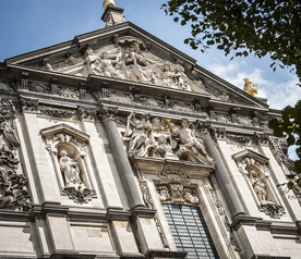 How to recognise the architecture of the baroque? - copyright SIGRIDSPINNOX.COM