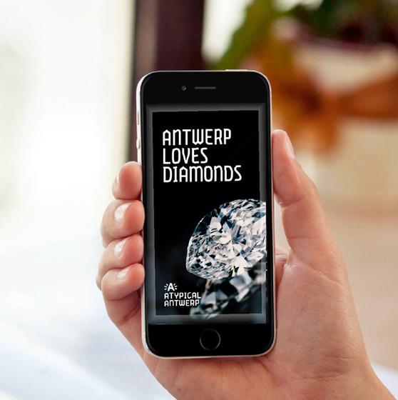 Antwerp loves diamonds app - copyright