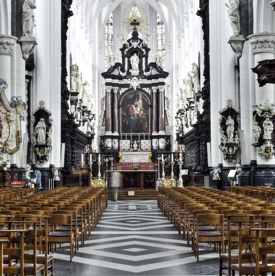 Bezoek met gids Sint-Pauluskerk - copyright Dave Van Laere