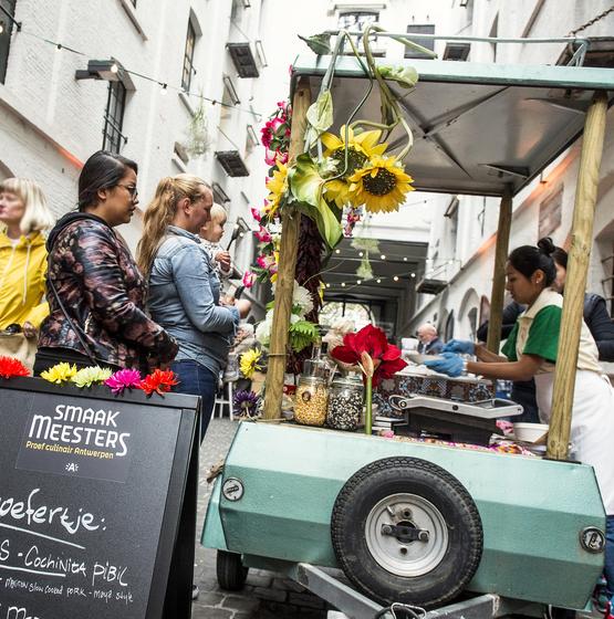 Smaakmeesters: culinair festival - copyright Sigrid Spinnox