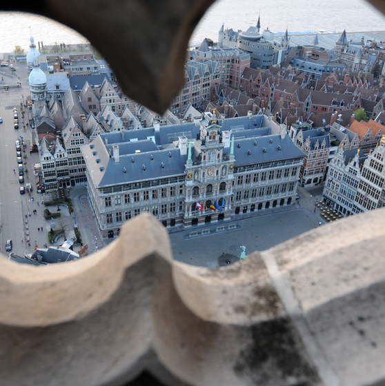 Medieval Antwerp - copyright Jan Crab