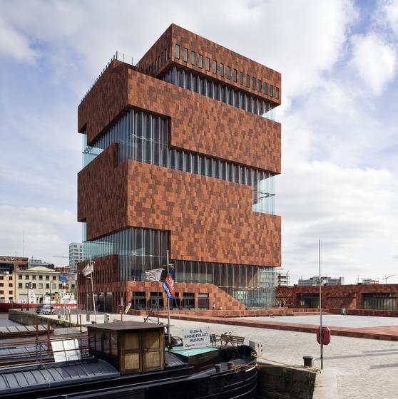 Busrondrit Antwerpen architecturaal - copyright Foto Sarah Blee | Neutelings Riedijk Architecten
