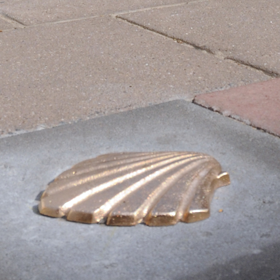 The Scallop Shell Trail - copyright Visit Antwerpen